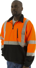Majestic 75-5336 High Visibility Sweatshirt With Teflon Fabric Protection- Orange (Each)
