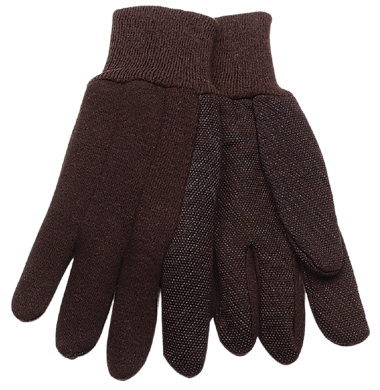Kinco 820 Brown Jersey Gloves (one dozen)