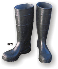 PVC Knee Boot With Steel Shank & Fabric Lined - Majestic 8220