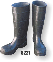 PVC Steel Toe Knee Boot With Steel Shank & Fabric Lined - Majestic 8221