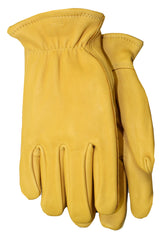 Midwest 850PL Pile Lined Grain Buckskin Gloves (One Dozen)