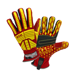 West Chester 87015 R2 R15 Rigger Glove with Cut Resistant PVC Palm Gloves (One Pair)