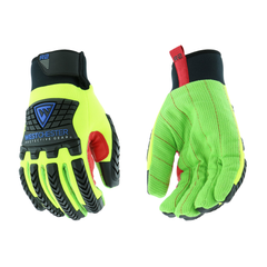 West Chester 87812 R2 Winter Green Corded Palm Rigger Gloves (One Pair)