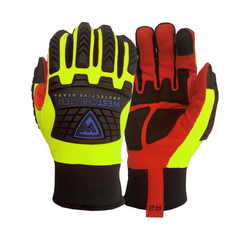 West Chester 87830 R2 Safety Rigger Padded Palm Gloves (One Pair)
