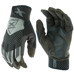 West Chester Extreme Work 89303GY Knuckle Knox-Gray Gloves (One Dozen)