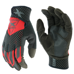 West Chester Extreme Work 89303 Knuckle Knox- Red Gloves (One Dozen)