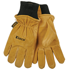 Pigskin Heatkeep Ski Gloves Kinco 901 (one dozen)
