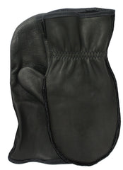 Midwest 9100BK Leather Choppers Mitt Gloves (One Dozen)