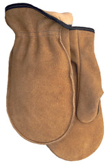 Midwest 9142PL Pile Lined Leather Mitten Gloves (One Dozen)