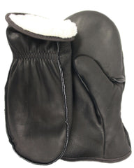 Midwest 9200PLBK Leather Choppers Mitt Gloves (One Dozen)