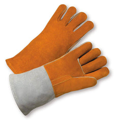 West Chester 9401 Brown Leather Welder Gloves (One Dozen)