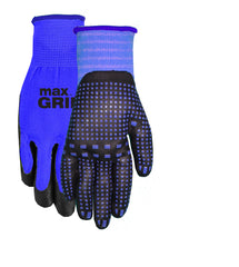 Midwest 94 BlueSpandex Liner Nitrile Foam Gloves (One Dozen)