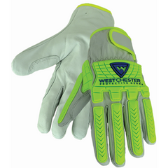 West Chester 9916 Goat TPR Driver with A7 Lining on Palm Gloves (One Pair)