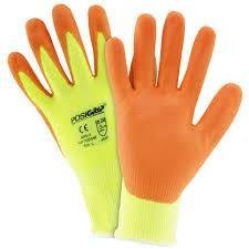 West Chester HVY710HSNF Hi Vis Yellow Nitirle Gloves (One Dozen)