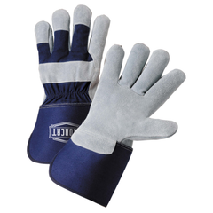 West Chester IC8 Iron Cat Splitcowhide Premium Leather with Knuckle Strap Gloves (One Dozen)