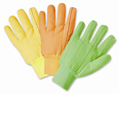 West Chester K81SCNCYWI Yellow Poly Cotton Gloves (One Dozen)