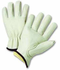 West Chester KS990K Kevlar Lined Goatskin Drivers Gloves (one dozen)