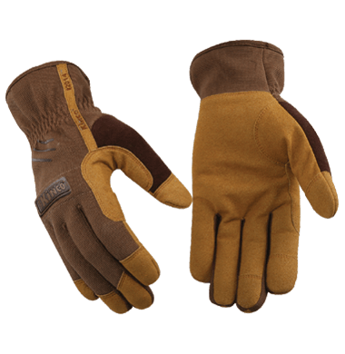 Kinco 2014y Leather Palm Mechanics Youth Gloves (one dozen)
