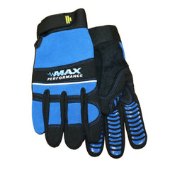 Midwest MX405 Synthetic Padded Palm And Knuckle Gloves (One Dozen)