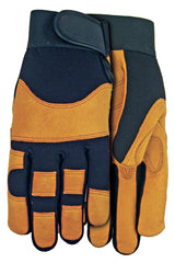 Midwest MX410 Grain Goatskin Palm Gloves (One Dozen)