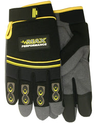 Midwest MX420 PVC Synthetic Palm Patch Gloves (One Dozen)
