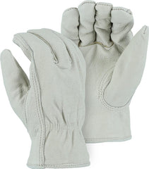Pigskin Fleece Lined Drivers Gloves Majestic 1511P (one dozen)