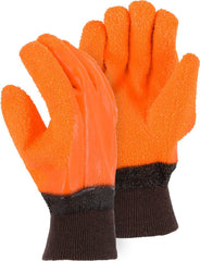 Majestic 3370G PVC Gritty Finish Lined Gloves