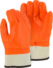 Majestic 3371 PVC Cuffed Foam Lined Gloves