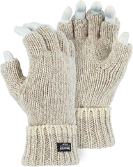 Majestic 3424 Ragg Wool Fingerless Gloves