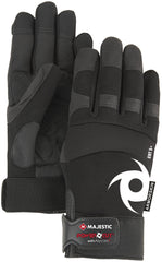 Majestic A1P37B Alycore ARS Palm Black Gloves (One Dozen)