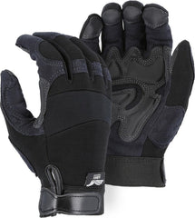 Majestic Armorskin Synthetic Leather Mechanics Gloves 2139BK