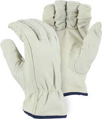 Majestic Grain Cowhide Drivers Gloves Kevlar Lined 2510KV (one dozen)