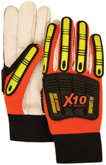 Knucklehead X10 Driller Anti Vibration Gloves Majestic 21262HO (One Dozen)