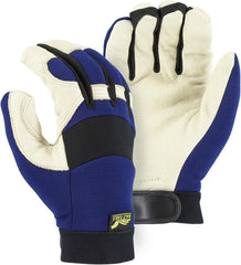 Majestic Pigskin Palm Lined Mechanics Gloves 2152T (one dozen)