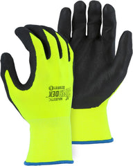 Majestic Super-Dex Nitrile Coated Hi-Vis Gloves 3228HVY (one dozen)