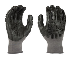 MadGrip Pro Palm Thunderdome Impact Grey Gloves (One Dozen)