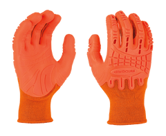 MadGrip Pro Palm Thunderdome Impact Gloves Hivs Orange (One Dozen)