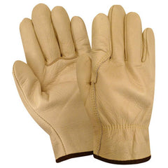 Red Steer 1545 Cowhide Unlined Drivers Gloves (One Dozen)