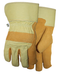 Midwest WW517 Leather Palm With Canvas Gloves (One Dozen)
