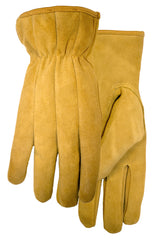 Midwest WW86 Leather Gloves With Keystone Thumb (ONe Dozen)