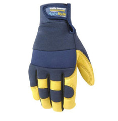 Wells Lamont 3207 Men's HydraHyde Work Gloves, Water-Resistant Leather, 12 Pairs