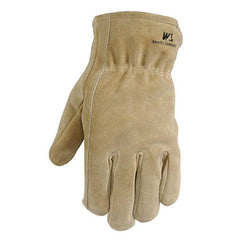 Wells Lamont 1063 Leather Winter Work Gloves, 100-gram Thinsulate Insulation, Split Cowhide, 12 Pairs