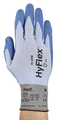 Ansell 11-518 HyFlex Barehand-like with Dyneema Diamond Cut Resistant Technology Gloves (One Dozen)