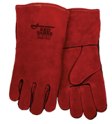 Red Sabre Premium Cowhide Welding Gloves (one dozen)
