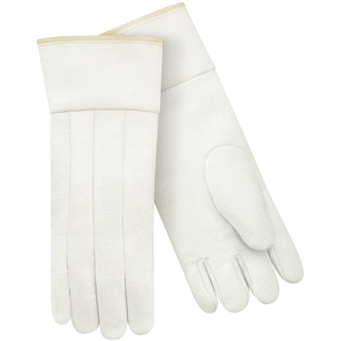 Knuckle Strap Rubberized Gauntlet Nap Out White Cotton Outer Large Southern Gloves UFG-P Heavy Weight Two Non-Woven Liners