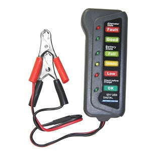 Led Digital Battery Tester - TIROL LTD