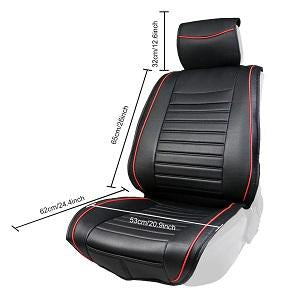 Front Seat Cover From PU Leather - TIROL LTD