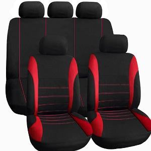 9 Pieces Set Car Seat Covers For Crossovers SUV Sedans - TIROL LTD