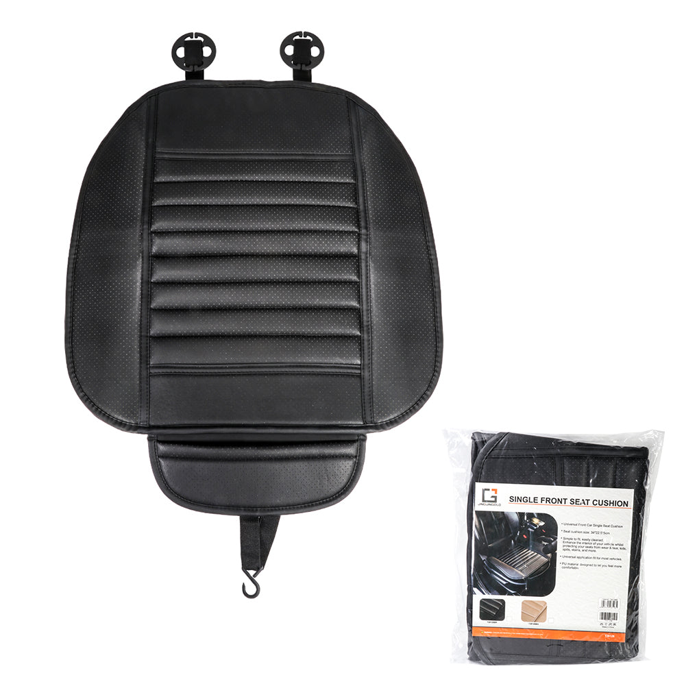 JINGJINGOLD Car Front Seat Cushion Anti-Slip Auto Seat Protection PU Seat Cover Cushion Pad For Auto Supplies - TIROL LTD