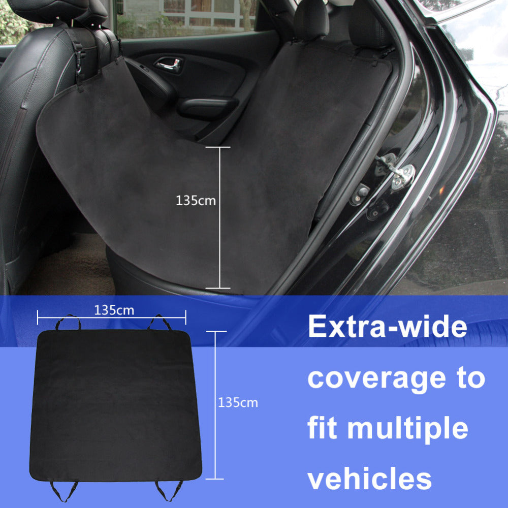 TIROL Hot Black Waterproof Car Pet Seat Cover Hammock Convertible Cat Pet Protector Travel Auto Rear Oxford T23767b - TIROL LTD